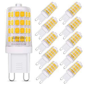 AMPOULE - LED Albrillo Lot de 10 ampoules à LED G9 Blanc chaud 3