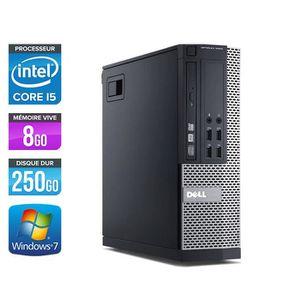 ORDI BUREAU RECONDITIONNÉ PC Dell 7010 SFF - Core i5-3470 3,2GHz -8Go -250Go