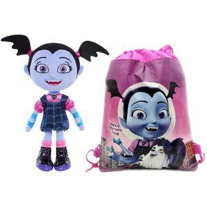 PELUCHE Disney Peluche Vampirina + Sac de Gym Vampirina