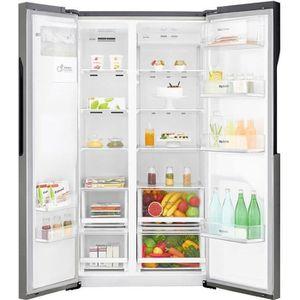 RÉFRIGÉRATEUR AMÉRICAIN LG GSL360ICEV - Réfrigerateur américain - 591L (39