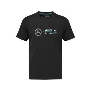 T-SHIRT T-shirt MERCEDES AMG Logo noir pour homme