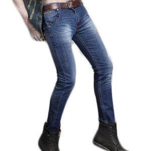 """Homme jeans en cuir Ceinture Casual Fashion Pantalon Ceinture En Noir Ou Marron 32/"""" 48/"""""""