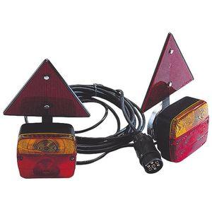FEUX DE REMORQUE SPOTLIGHT Kit Magnétique Entre Feu +  Triangles Ré