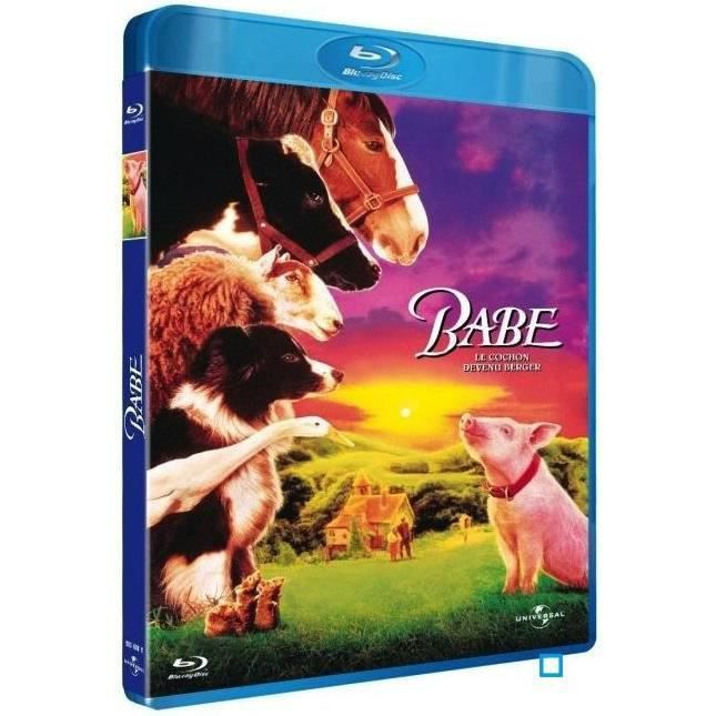 Babe Chris Noonan: Blu-Ray Babe, Le Cochon Devenu Berger En Blu-ray Film Pas