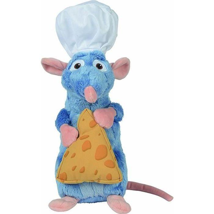 RATATOUILLE Peluche Remy Chef de Cuisine avec Fromage 25 cm - Disney