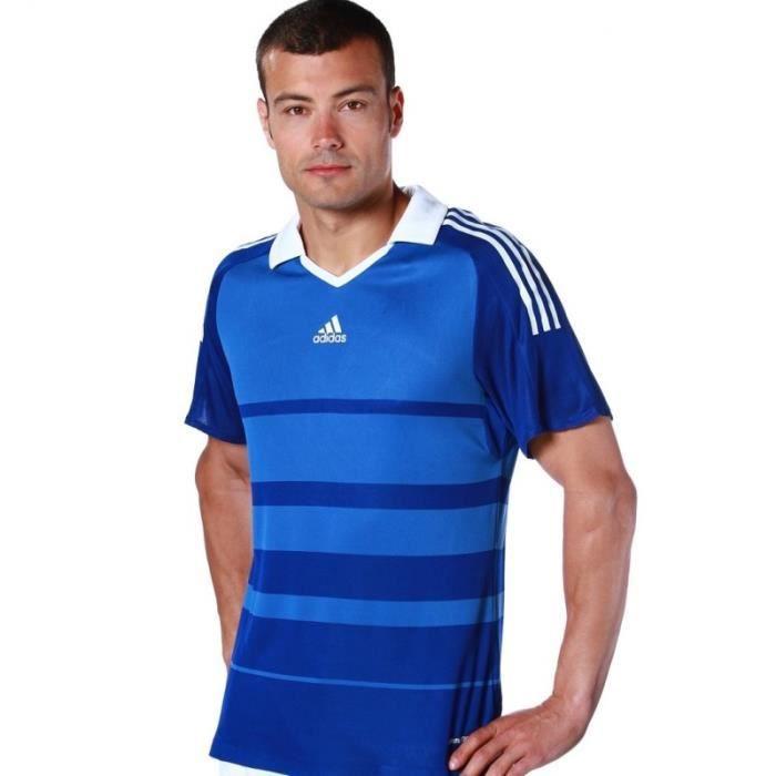 Maillot de foot ADIDAS equipe de France officiel FFF TAILLE MFédération Francaise de Football T-shirt