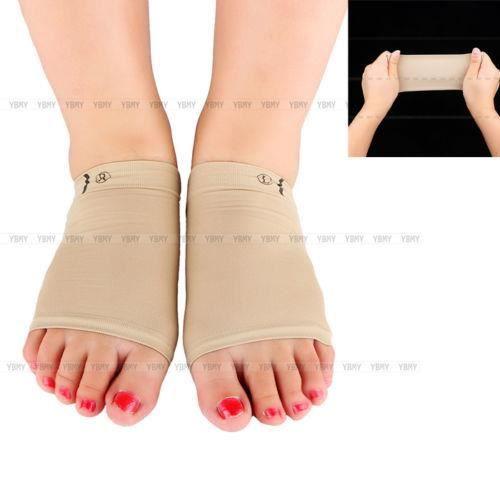 1x pair support de voûte Semelle corrective pour pieds plats silicone cambrer massage Étendue Talon