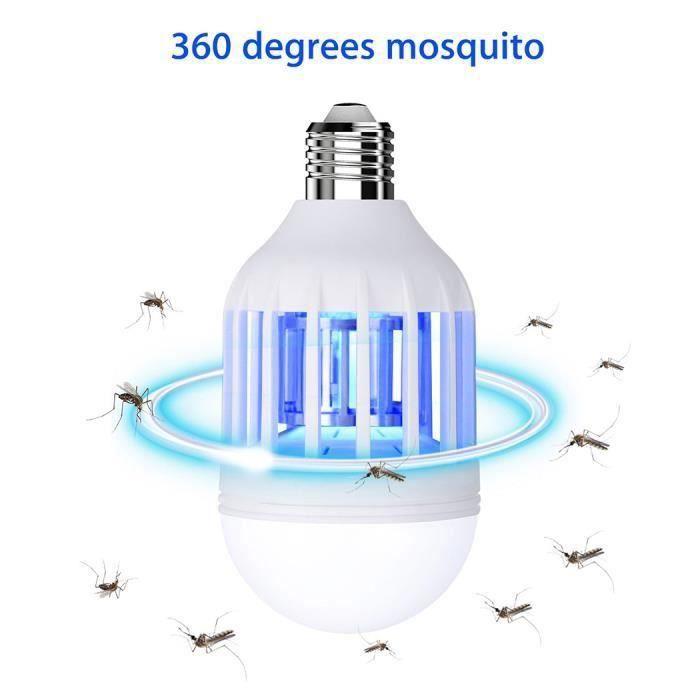 Lampe Anti-Insecte Lampe Anti-Moustique Electrique Tueur Destructeur de Mouches