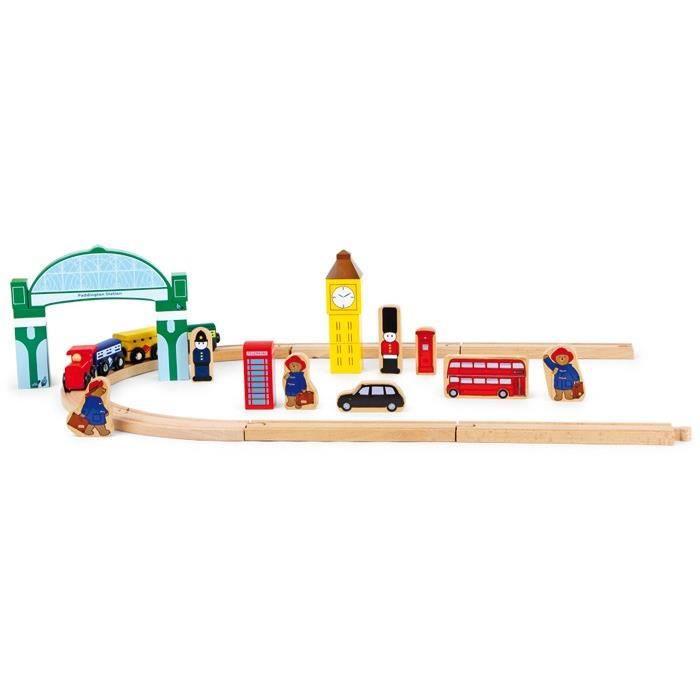 L´ours Paddington Set de jeu Chemin de fer