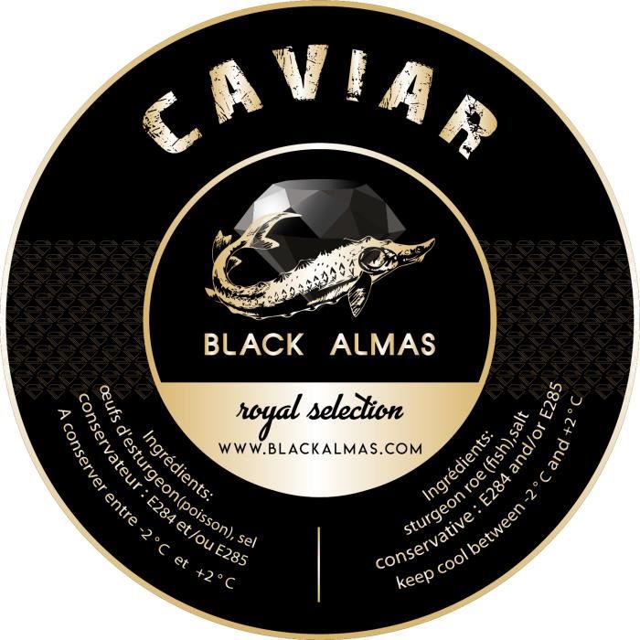 Caviale Royal Baeri Selection 4 x 50 gr