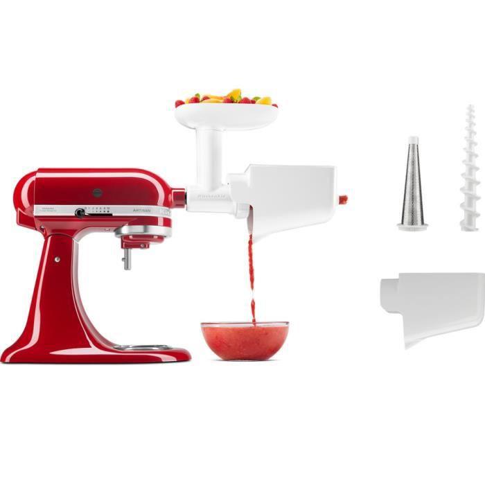 kitchenaid - passoire à fruits et légumes pour robot artisan - 5ksmfvsp