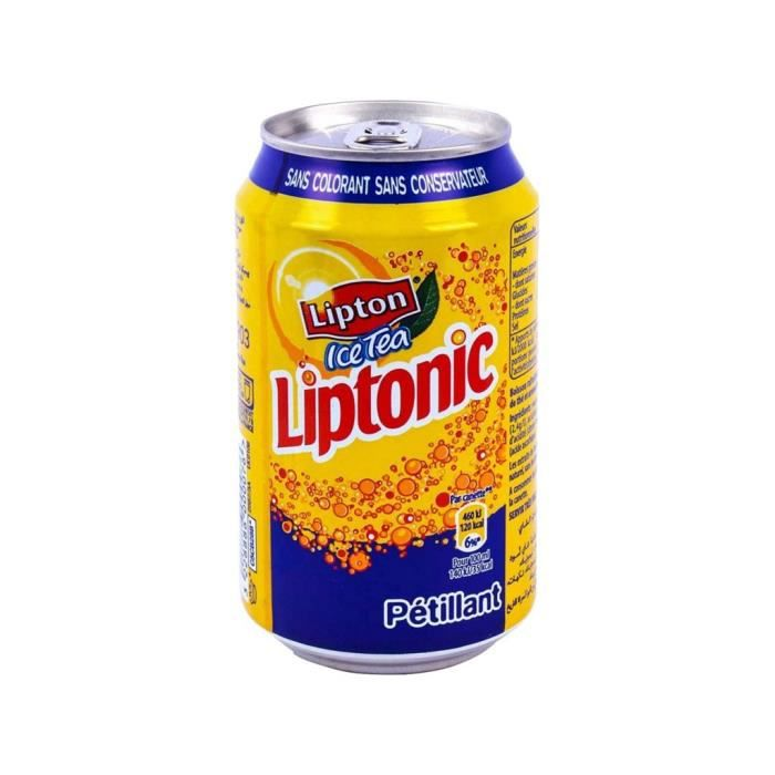 Lipton Ice Tea Liptonic 33cl (pack de 24)