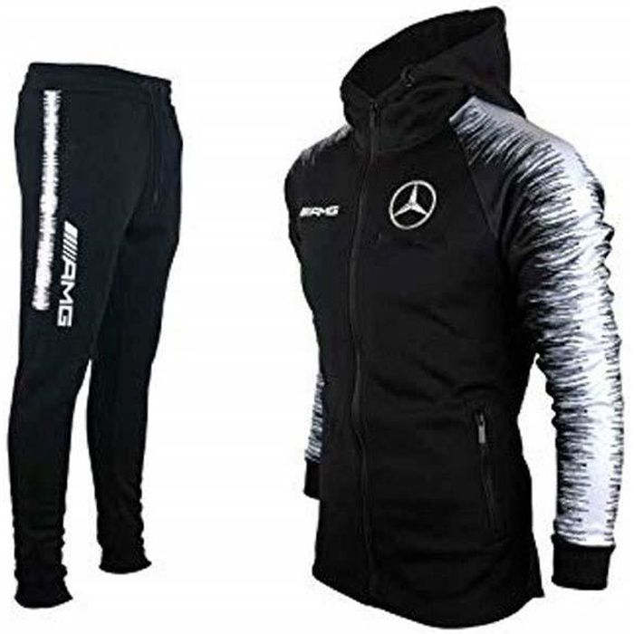 survetement mercedes amg jogging noir style nike