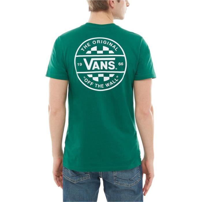 Tee shirt Vans Checker Co Evergreen