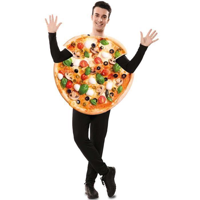 EUROCARNAVALES, SA. Déguisement de Pizza pour adulte. Adulte.