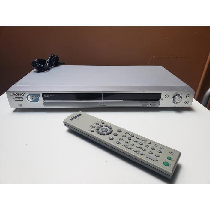 LECTEUR DVD SONY DVP-NS333 CD DVD PLAYER VIDEO DTS DOLBY DIGITAL + TELECOMMANDE