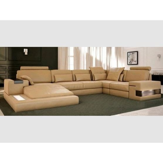 canap d 39 angle cimone cuir achat vente canap sofa. Black Bedroom Furniture Sets. Home Design Ideas