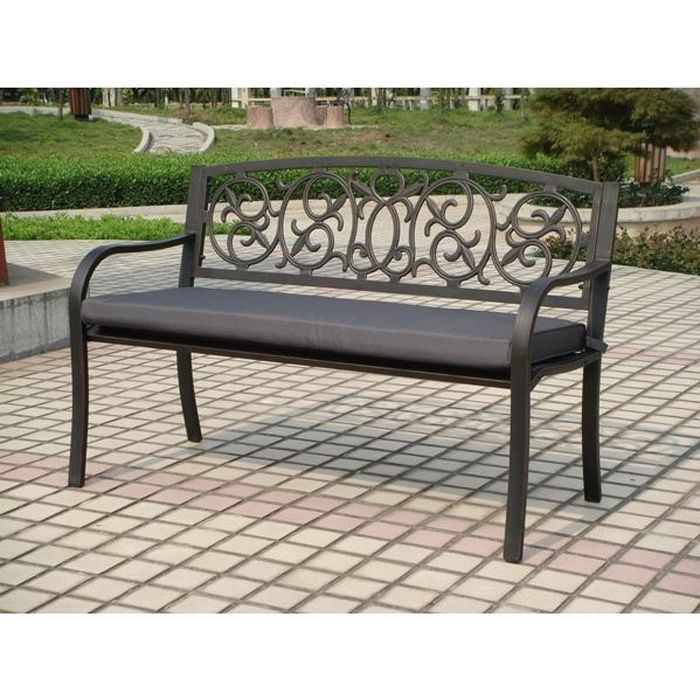 banc de jardin castorama free housse de protection pour. Black Bedroom Furniture Sets. Home Design Ideas