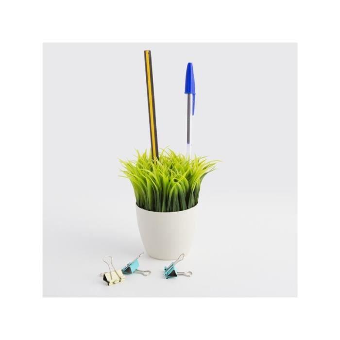 Porte crayon pot de fleur