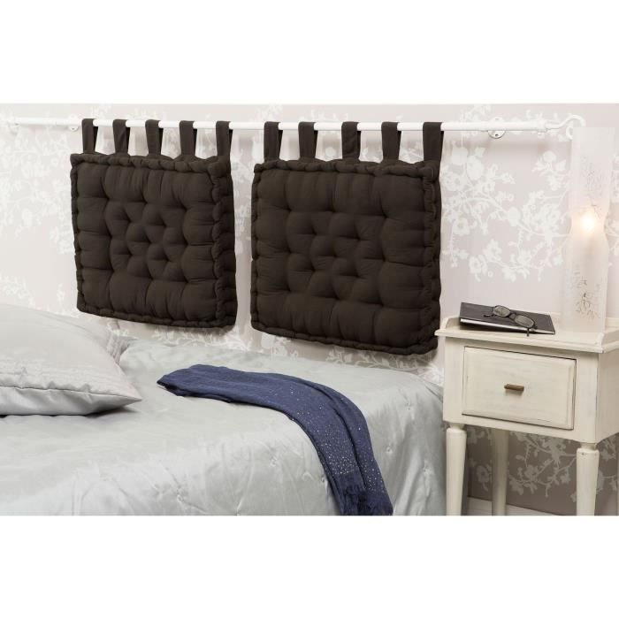 coussins tete de lit. Black Bedroom Furniture Sets. Home Design Ideas