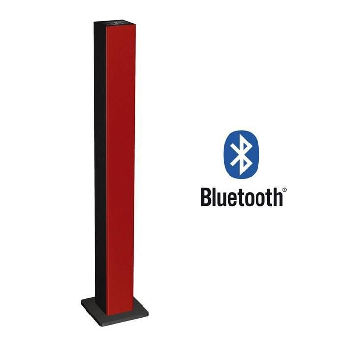 dynabass dbt30 tour d 39 enceinte bluetooth rouge enceintes bluetooth avis et prix pas cher. Black Bedroom Furniture Sets. Home Design Ideas