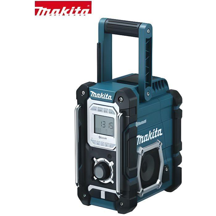 RADIO DE CHANTIER MAKITA Radio de chantier Bluetooth 7,2V à 18V Li-I