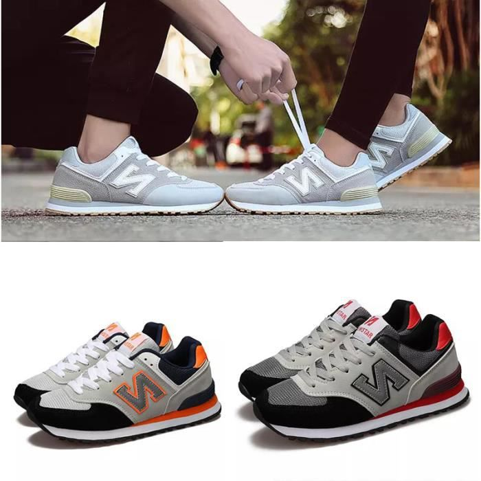 Lover Chaussures de Course Sports Fitness Gym athlétique Femme Baskets Sneakers Homme czMwkw
