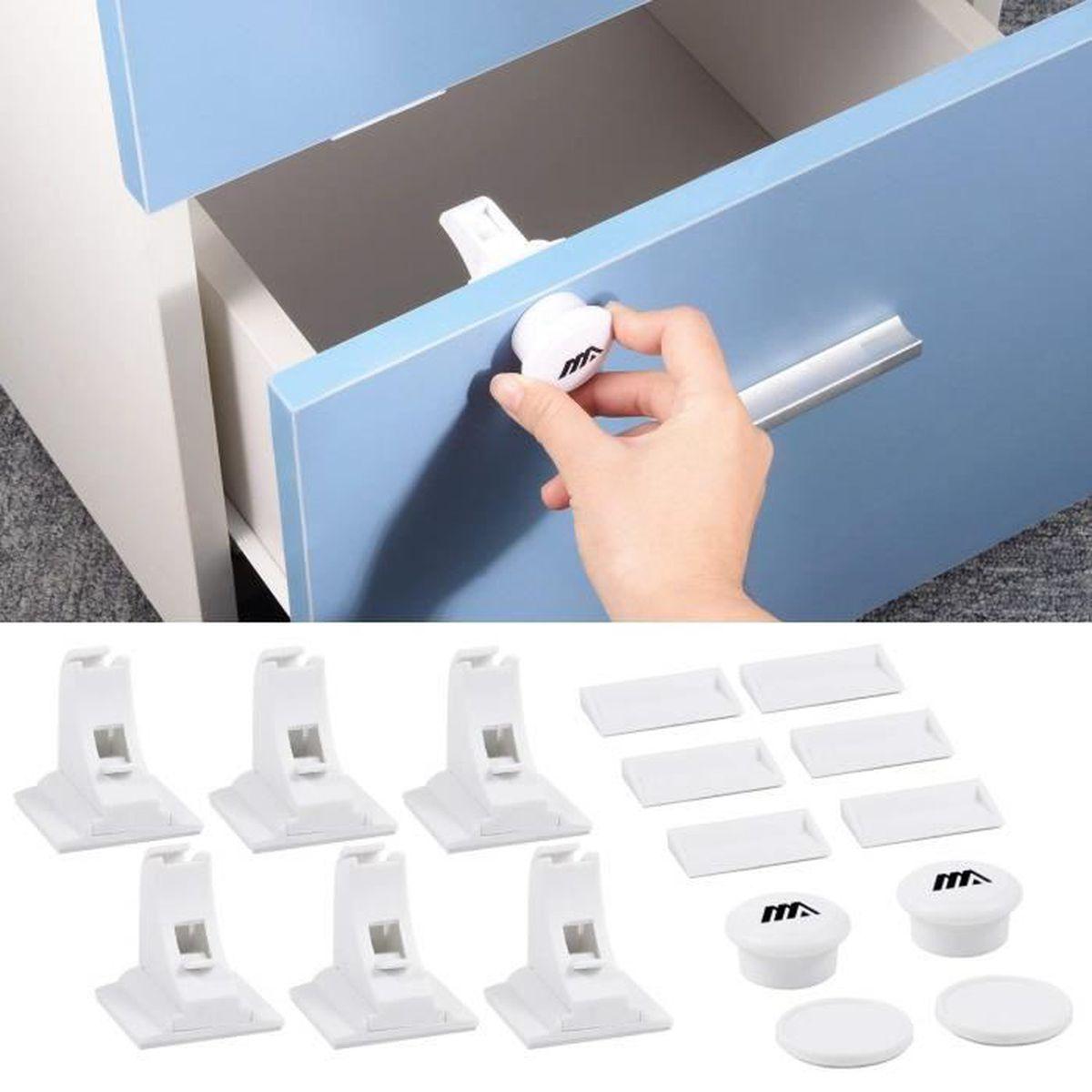 Verrou sécurité tiroir porte armoire preuve magnétique bébé enfant