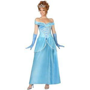 DÉGUISEMENT - PANOPLIE ATOSA Déguisement Princesse Bleu - Panoplie Adulte