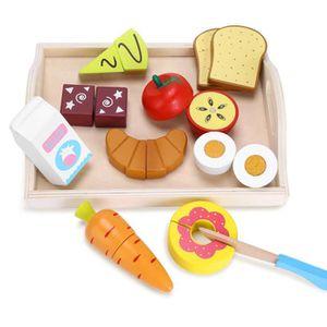 DINETTE - CUISINE Fruits Légumes Jouets en Bois Jouet Cuisine Enfant