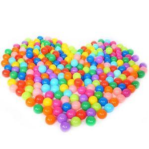 BALLE - BOULE - BALLON Vococal 100pcs 7cm piscine balles bebe plastique C