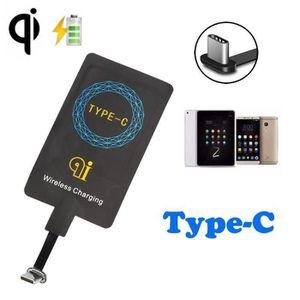 CHARGEUR TÉLÉPHONE USB 3.1 de type C Sticker QI de charge sans fil Ré
