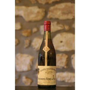 VIN ROUGE Domaine Bouchard, Cuvee vigneronne 1971 Simple