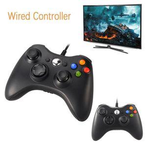 ADAPTATEUR MANETTE Manette filaire Xbox 360, USB Gamepad Controller d