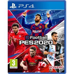 JEU PS4 Jeu PS4 Konami eFootball PES 2020