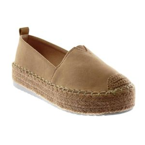 DERBY Angkorly - Chaussure Mode Espadrille plateforme bi