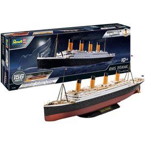 MAQUETTE DE BATEAU REVELL Easy-Click RMS Titanic 05498 Maquette plast
