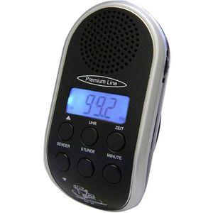 Radio réveil Radio pour vélo Security Plus 0224 noir, argent 1
