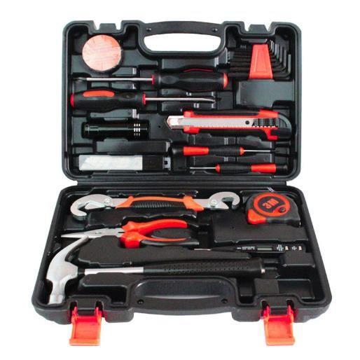 Ensemble d'outils à main matériels, boîte à outils ménagers, outil de réparation