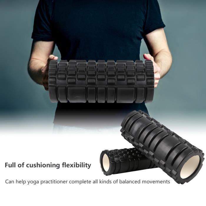33CM 2 en 1 EVA colonne de Yoga creuse rouleau de mousse Fitness Pilates accessoires d'exercice-SHC2