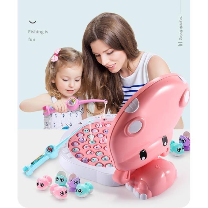 Hippo Jouet de Pêche Enfants Magnétique Electrique Garçon Intelligence Développement Puzzle Jouets Cadeaux pour Bébé Enfant 2-3 ans