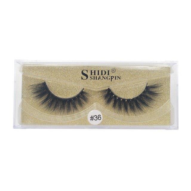 l1484 1 paires nouveau naturel mode 3D vison cils cheveux faux cils épais cils Extension beauté maquillage outils maquiagem maquill