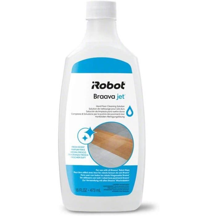 Robots aspirateurs iRobot - Solution Liquide de Lavage pour Braava Jet m6 - Braava 390t - Braava 240 - Braava 250207