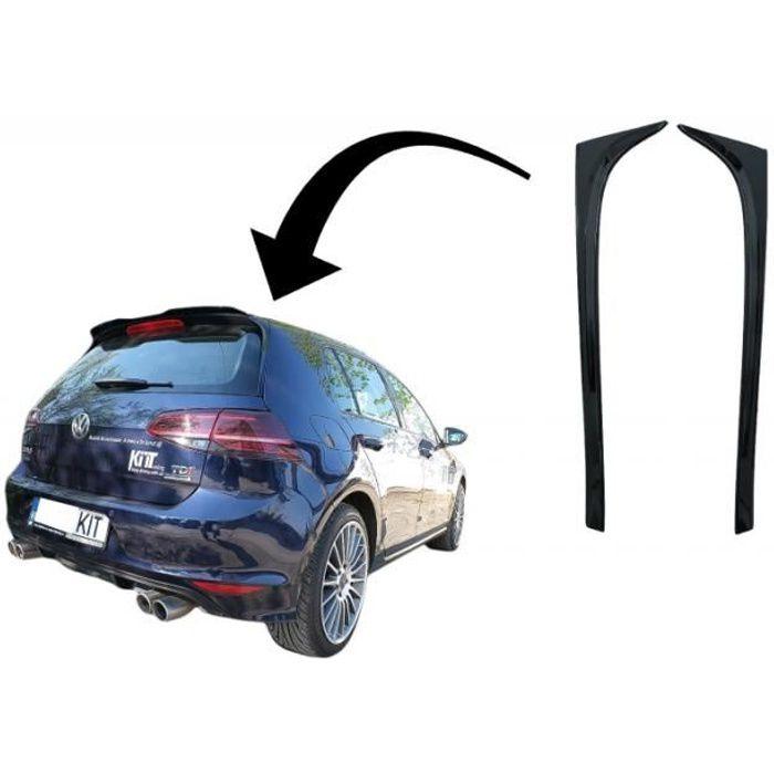 Spoiler d'aileron lunette arrière pour VW Golf 7 et 7.5 12-20 GTI Design Noir