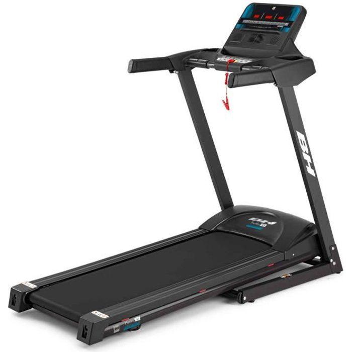 BH Fitness Pioneer S1 G6484N Tapis de course - 16 Km/h - 120x40 cm - 8 ANS de garantie