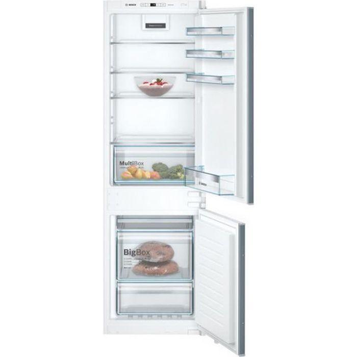 bosch - réfrigérateur combiné intégrable à glissière 254l a++ - kin86vsf0