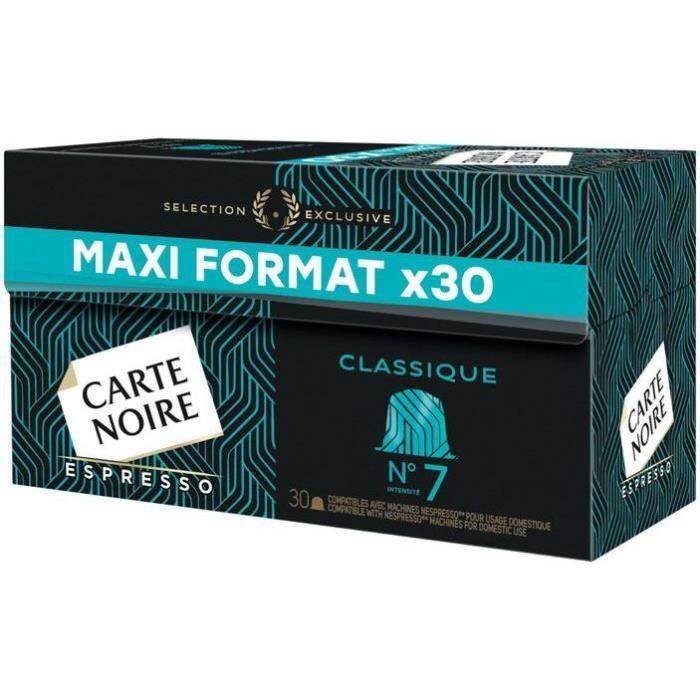 CARTE NOIRE Café Espresso classique nº 7 - 30 capsules - 159 g