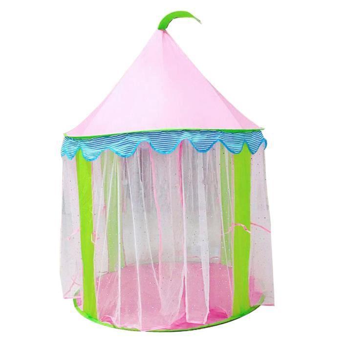 TENTE ACTIVITE - TUNNEL ACTIVITE 1 x jouet de tente de château princesse d'enfants