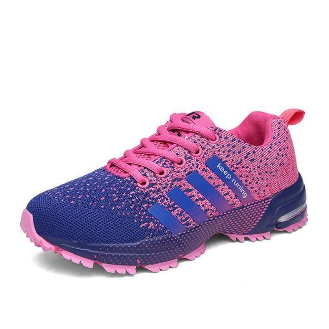 Chaussures de Sport Running Basket Homme Femme Course Trail Entraînement Fitness Tennis Respirantes
