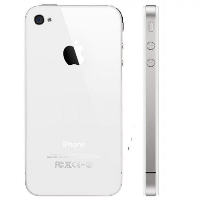 apple iphone 4s blanc 16go achat smartphone pas cher. Black Bedroom Furniture Sets. Home Design Ideas